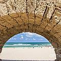 Israel Caesarea Aqueduct  by Eyal Bartov
