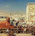 Israel In Egypt, 1867 by Sir Edward John Poynter