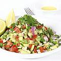 Israeli Salad  by Oren Shalev
