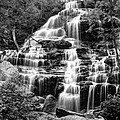 Issaqueena Falls-1-bw by Charles Hite