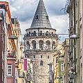 Istanbul Galata Tower by Antony McAulay