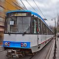 Istanbul Tram In Motion by Antony McAulay