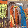 It Is Raining by Brigitte Roshay