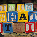It Is What It Is by Art Whitton