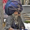 Its All In The Head - Rishikesh India by Kim Bemis