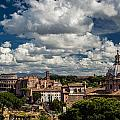 Italian Architecture In Rome City View by Alex Anashkin