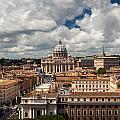 Italian City Rome Overview by Alex Anashkin