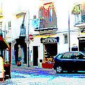 Italian City Street Scene Digital Art by A Gurmankin
