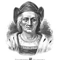 Italian Explorer Christopher Columbus by War Is Hell Store