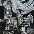 Italian Fantasies. Pisa by Anna  Duyunova