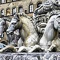 Italian Fountain by Greg Sharpe