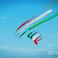 Italian Frecce Tricolori Aerobatics Team by Stefano Senise