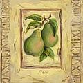 Italian Fruit Pears by Marilyn Dunlap