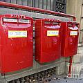 Italian Post Office Boxes by Jason O Watson