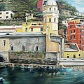 Italian Riviera - Cinque Terre Colors by Jennifer Lycke