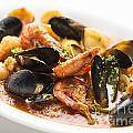 Italian Seafood Stew by Jacek Malipan