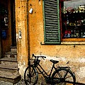 Italian Sidewalk by Nancy Bradley