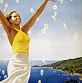 Italian Travel Poster, 1951 by Granger