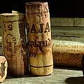 Italian Wine Corks by Jon Neidert