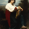 Italian Woman With A Tambourine by William Adolphe Bouguereau