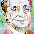 Italo Calvino by Fabrizio Cassetta