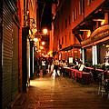 Bologna Italy Night  Scene by Femina Photo Art By Maggie