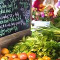 Farmer's Market Produce Stall II by Michele Steffey