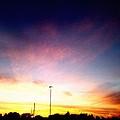 Ithaca New York  Sunset by Jo-Ann Hayden