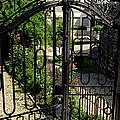It's A Huge Iron Gate by Susanne Van Hulst
