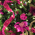 It's A Pink Christmas by Optical Playground By MP Ray