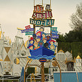 Its A Small World Fantasyland Signage Disneyland by Thomas Woolworth