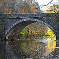 It's Autumn At The Valley Green Bridge by Bill Cannon