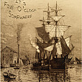 It's Five O'clock Somewhere Schooner by John Stephens