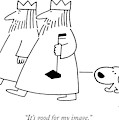 It's Good For My Image by Charles Barsotti