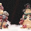 It's Snowing by Sandra Clark