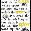 Itsy Bitsy Spider by Jaime Friedman