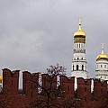 Ivan The Great Belfry Of Moscow Kremlin by Alexander Senin