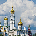 Ivan The Great Bell Tower Of Moscow Kremlin - Featured 3 by Alexander Senin