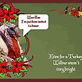 I've Been Invited To A Turkey Dinner Holiday Greeting  by Taiche Acrylic Art