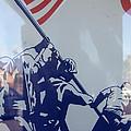 Iwo Jima Flag Raising Design Arizona City Arizona 2004 by David Lee Guss