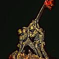 Iwo Jima Memorial by David Kay