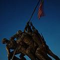 Iwo Jima Memorial by Geoffrey McLean