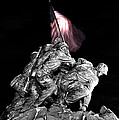 Iwo Jima Memorial by Michael Donahue