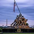 Iwo Jima Monument by David Morefield