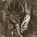 Ixion In Tartarus On The Wheel, 1731 by Bernard Picart