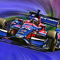 Izod Indycar Series Marco Andretti  by Blake Richards