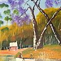 Jacaranda Tree by Pamela  Meredith