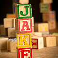Jake - Alphabet Blocks by Edward Fielding