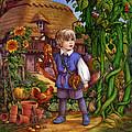 Jack And The Beanstalk By Carol Lawson by Carol Lawson