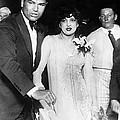 Jack Dempsey & Estelle Taylor by Underwood Archives